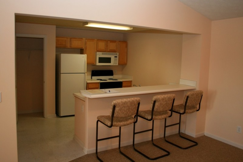 Full size appliances included with unit